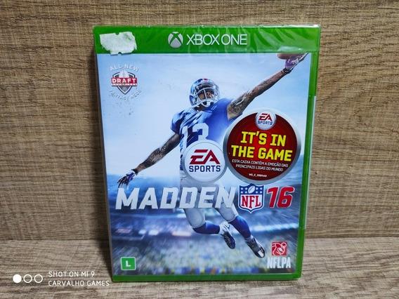Madden Nfl 16 Xbox One - Lacrado