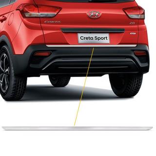 Adesivo Friso Escovado Resinado Do Porta-malas Hyundai Creta