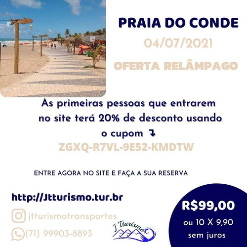 Grande Passeio Praia Do Conde-ba
