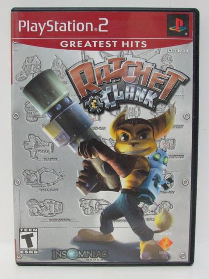 Ps2 - Ratchet & Clank Game Original E Completo Com Manual
