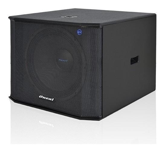 Caixa Acústica Passiva Oneal Obsb 3218 Sub 18 300w Rms Preta