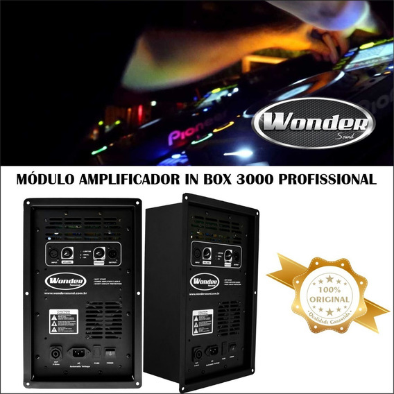 Módulo In Box 300w Wonder Caixa Acustica Casamento Musica