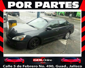 Honda Accord 4p Ex Sedan V6 Piel Abs Q/c Cd 2006