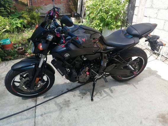 Yamaha Mt 07 Fz 07