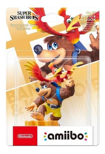 Amiibo Banjo & Kazooie / Super Smash Bros/ Mathogames