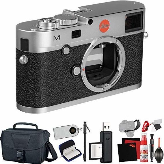 Camara Leica M Typ 240 Digital Rangefinder Silver Extra Ac ®