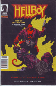 Comic Hellboy Semilla De Destruccion # 1 Bruguera Español