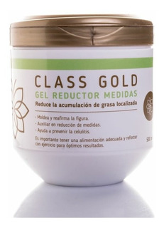 Gel Reductor Anticelulitis Class Gold Medidas Classgold
