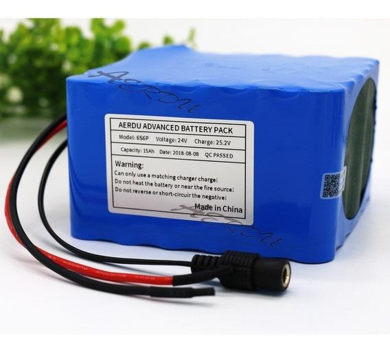 Bateria Bicicleta Elétrica Litio 24v 15ah