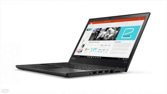 2299,90 Thinkpad T470 I5-6300u 8gb 240gb Garantia 19/06/2022