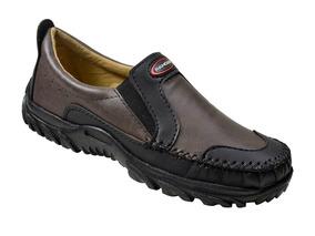 Sapato Masculino Ranger - Café/preto