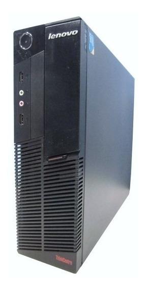Cpu Lenovo I3 Segunda Com 4 Giga 320 Hd Maquina Usado
