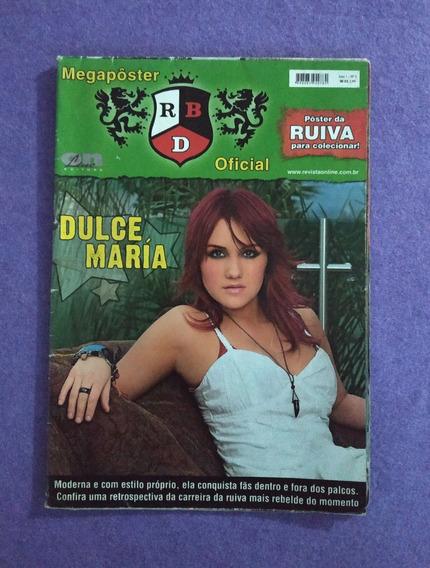 Rbd Dulce Maria Roberta Revista Megapôster Rebelde Ano1 No.2