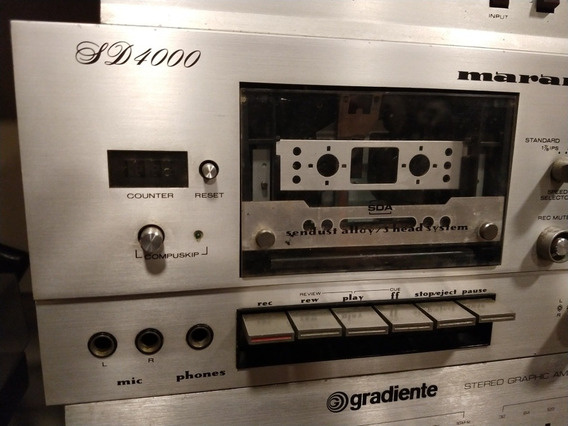 Tape Marantz Sd4000 Toca Fitas K7