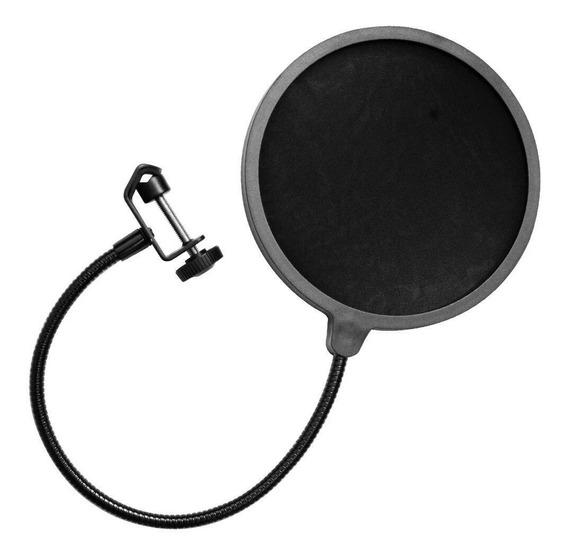Pop Filter Studio Anti Puff Para Microfone Condensador Gt649