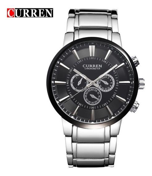 Relógio Curren Masculino Importado Original 8001 Nota Fiscal