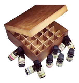 10 Óleos Essenciais Via Aroma Aromaterapia 10ml Brinde Caixa