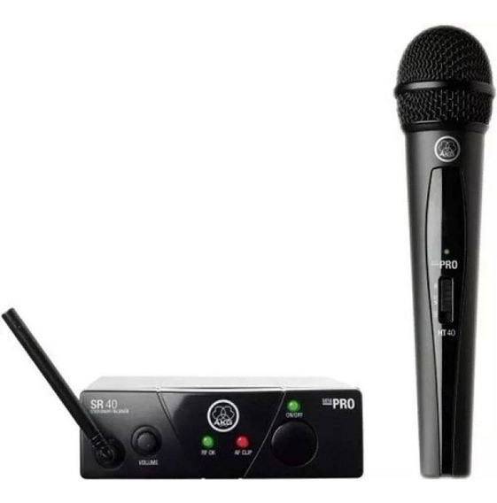 Microfone Sem Fio Akg Wms40 Mini Vocal Set Us25a