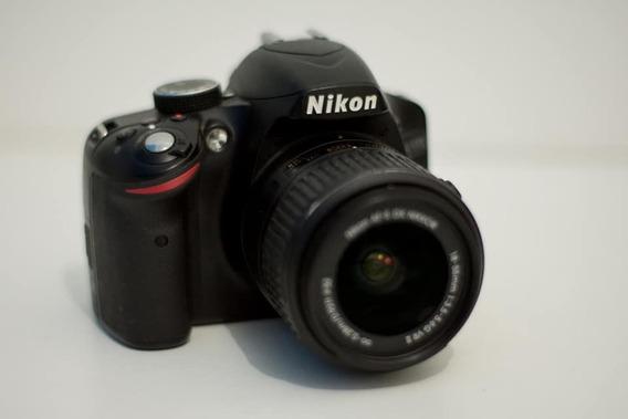 Câmera Nikon D3200 (usada) + Lente Do Kit