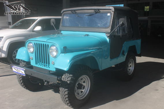 Jeep Willis - 4 X 4 - Ano: 1974