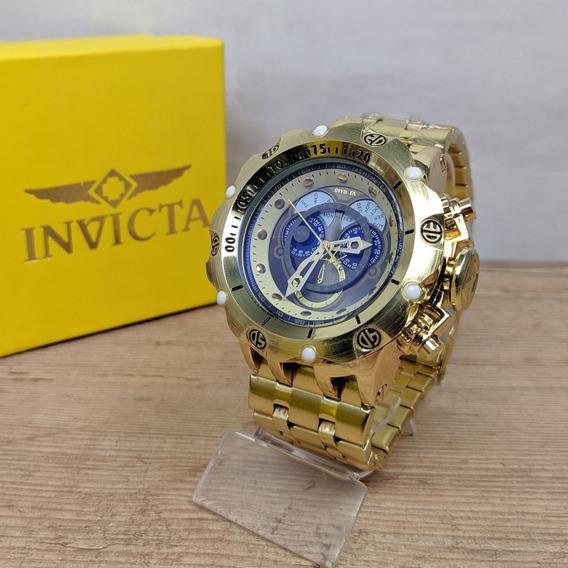 Relógio Masculino Hybrid Gold Pesado