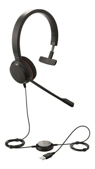 Headset Jabra Evolve 20 Mono Usb Nf