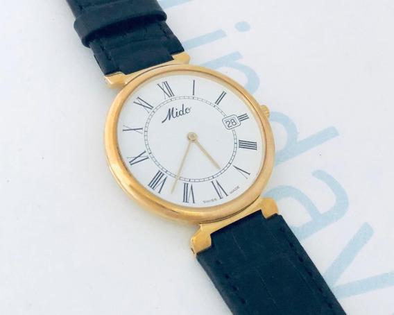 Reloj Mido Dorada Mediano