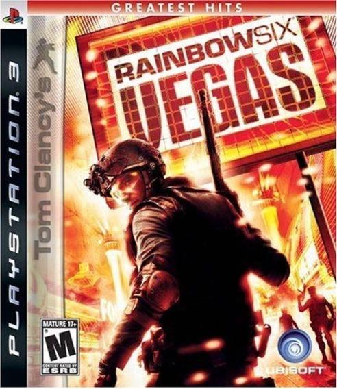 Jogo Tom Clancy´s Rainbow Six Vegas Para Ps3