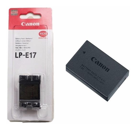 Bateria Canon Lp-e17 Original Lacrada Garantia Canon Nf-e