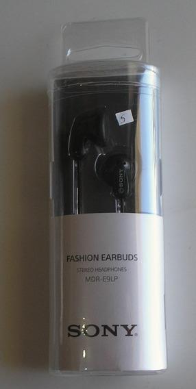 Fone Ouvido Headphone Sony Mdr-e9lp Novo Excelente Qualidade