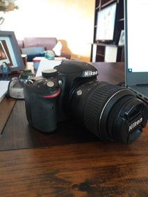 Camera Nikon D3200 Semi Nova, Menos De 100clicks