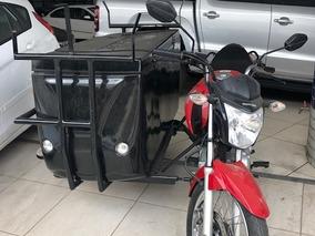 Moto Side Car Cg-150 2015/2015 Apenas 5mil Km De Cliente Ba