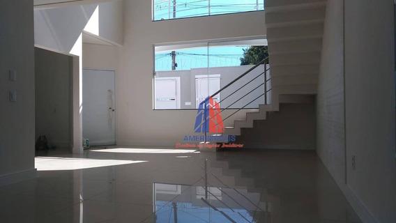 Casa Com 3 Dormitórios À Venda, 205 M² Por R$ 800.000 - Jardim Souza Queiroz - Santa Bárbara D