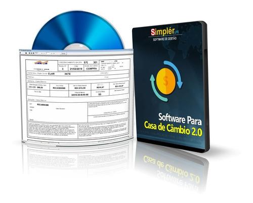 Imagem 1 de 3 de Software Sistema Controle Gestão Casa De Câmbio Exchange