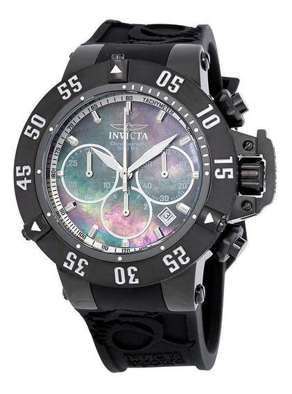 Relógio Masculino Invicta 22922 50mm Silicone Preto