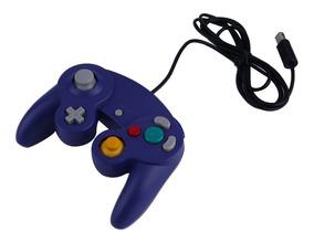 Controle Joystick P/ Nintendo Game Cube Cor Roxa