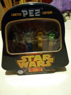 Star Wars Pez Coleccion Pastillas Limited Edition