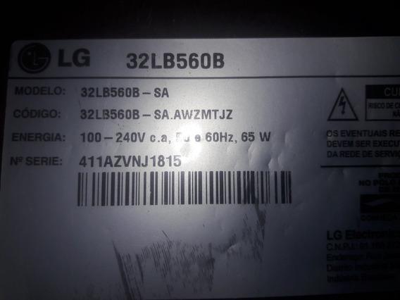 Placa Fonte E Placa Principal Tv LG 32lb560b
