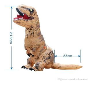 Disfraz De Dinosaurio T - Rex Inflable