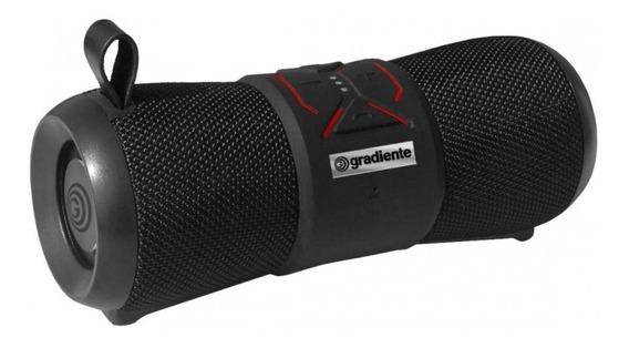 Caixinha De Som Portátil Bluetooth Aqua Gsp-100 Preto Bivolt