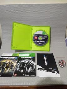 Payday 2 Edição Especial Xbox 360 Impecável R$99