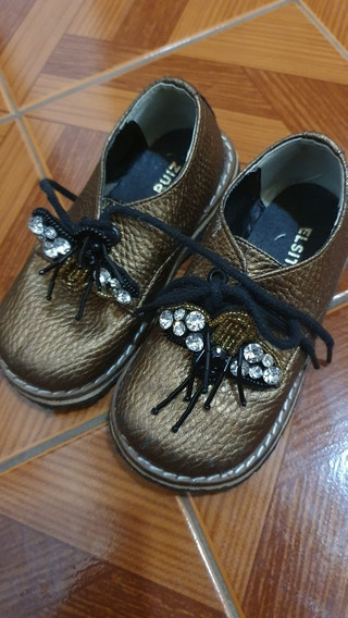 Zapatos De Nena Elsita Ruiz Nro 23