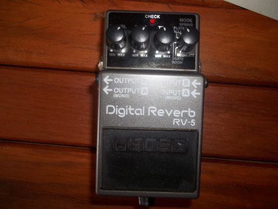 Pedal Boss Digital Reverb Rv-5