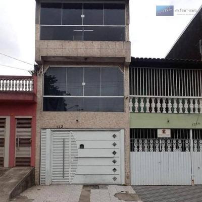 Sobrado Com 2 Dormitórios À Venda, 100 M² Por R$ 410.000 - Parque Dom João Neri - São Paulo/sp - So0732