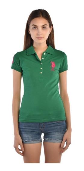 Polo Regular Fit U.s. Polo Multicolor Uslpl411545 Dama