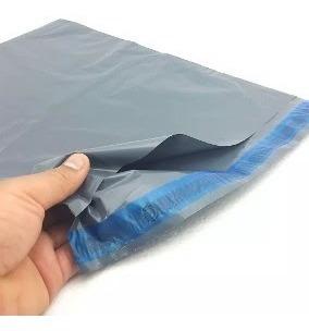 Envelope Reciclado Cinza Segurança 60 X 50 60x50 100 Pçs