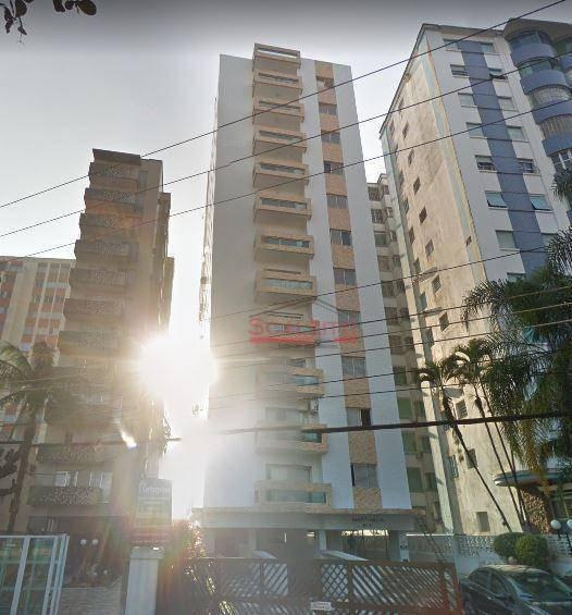 Studio Com 1 Dormitório À Venda, 52 M² Por R$ 210.000,00 - Centro - São Vicente/sp - St0125