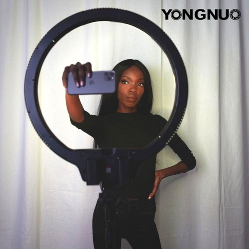 Imagen 1 de 10 de Professional Ring Light Yongnuo Yn608 608 Leds - Inteldeals