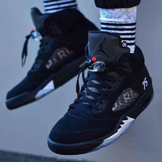 Jordan 5 Black Paris