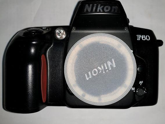 Camera Nikon F60 Filme 35mm Slr Japonesa